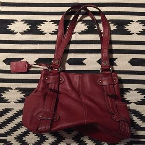 Tignanello Red Leather Bag *Real Leather*